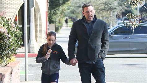 Ben Affleck Holds Hands With Daughter Seraphina: See Sweet