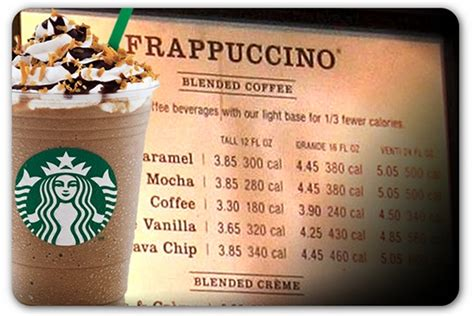 How Starbucks' posting of calorie counts might fuel