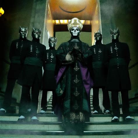 How I Came to Love the Band Ghost, After Senselessly