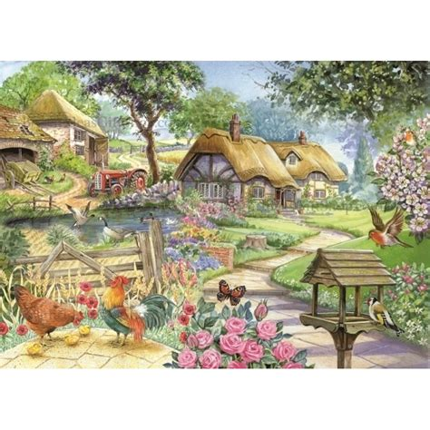 Country Living - Brampton Collection 500 BIG Piece Puzzle