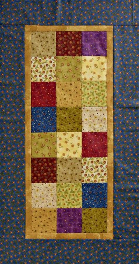 One-Patch Table Runner   AllPeopleQuilt