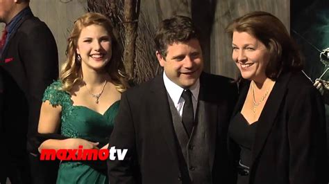 Sean, Christine and Alexandra Astin on red carpet at The