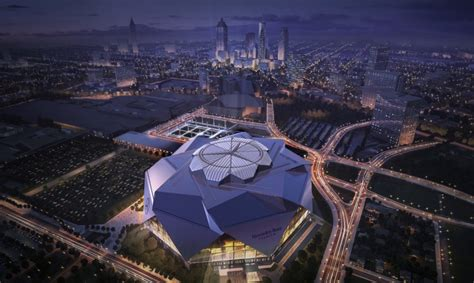 Atlanta's Mercedes-Benz Stadium to be NFL's first-ever