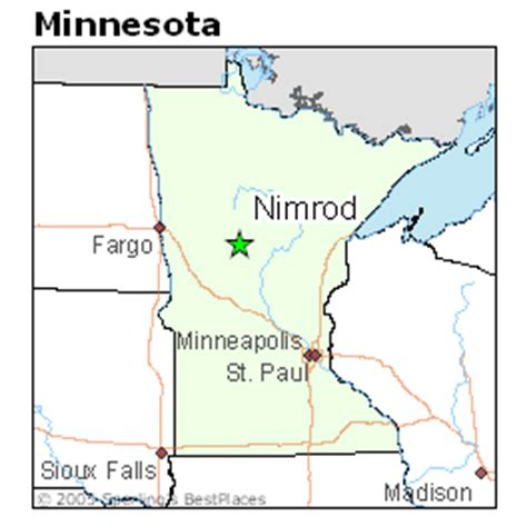 Best Places to Live in Nimrod, Minnesota