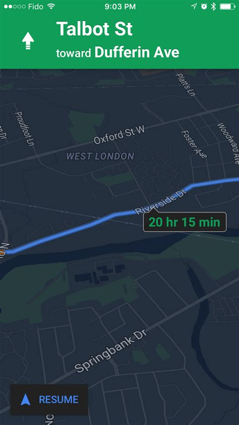 Google Maps App Gets Night Mode, Ability to Label Places