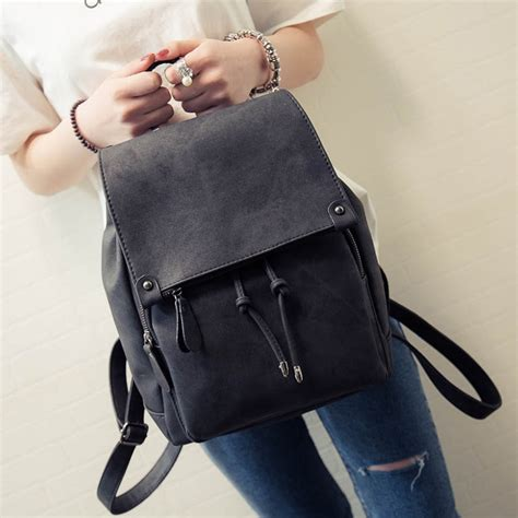 2017 New Arrival Summer Women Backpacks Canvas College