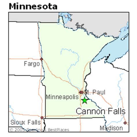 Best Places to Live in Cannon Falls, Minnesota