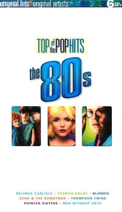 Top of the Pop Hits: The 80s - Various Artists   Songs