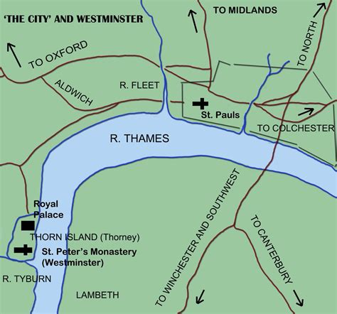 London 900 AD--Alfred was king