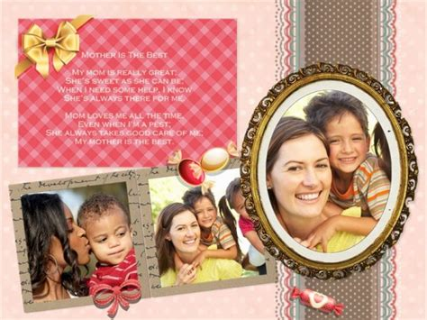 Mother's Day Collage / Card Add-on Templates - Download Free