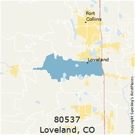 Best Places to Live in Loveland (zip 80537), Colorado